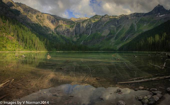 avalanch lake2 by Pixelbug - National Parks Photo Contest