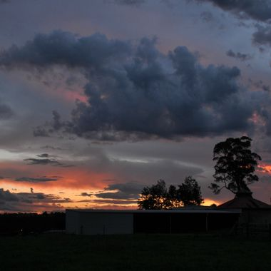 Sunset Collection (28) - Silverdale - Angry Sky