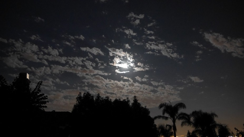 Warm, yet cold night in California; 8.10.14