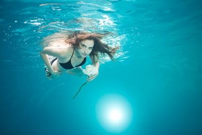 Underwater Bikini Shooting