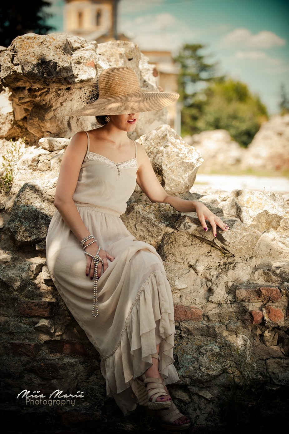 vintage elegance by MishaMaricPhotography - Hats Photo Contest