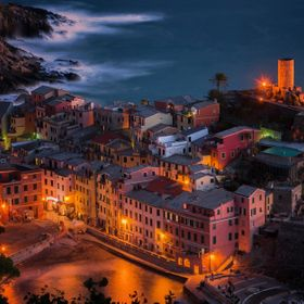 Vernazza Twilight - National Park of Cinque Terre