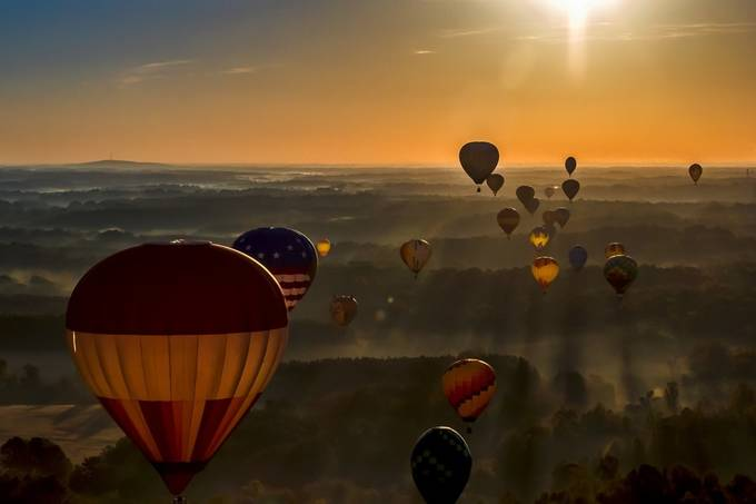Ballon Ride by CarolPlummer - Adventure Bound Photo Contest