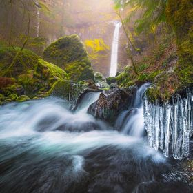 Elowah falls  ***This is a slightly reprocessed image that i've posted here on 500px few weeks ago. As time goes by i do see mistakes and photo i...
