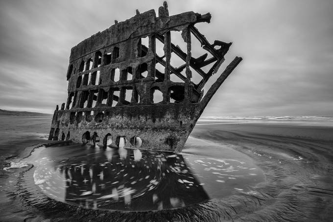 Peter Iredale Shipwreck by BensViewfinder - Photofocus Feature Photo Contest Volume 1