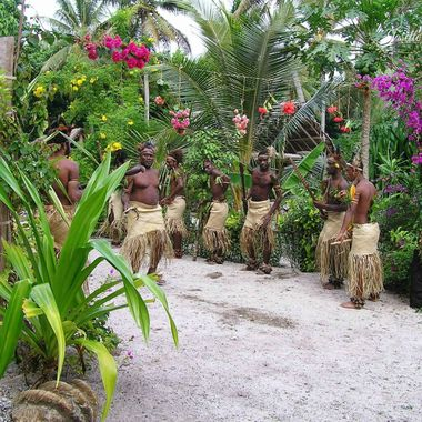 Tribal Welcome from small village in Vanuatu