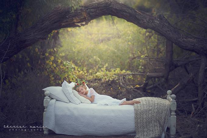 Sleeping Fairy by theresemariemackendrick - Fairytale Moments Photo Contest