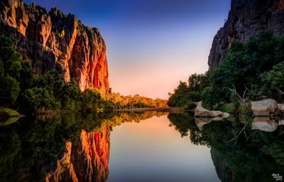 Windjana Gorge Sunset