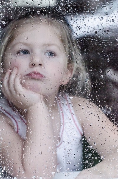 Watching the rain from the window!...