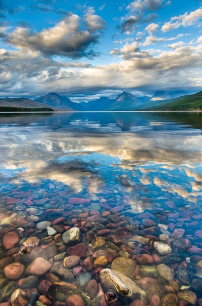 Clear Waters of Lake McDonald