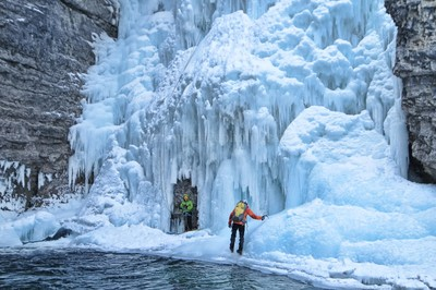 Upper Falls Ice