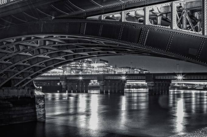 London (South Bank) at Night. 0041. 20141130 _ by ChrisBee453 - Under The Bridge Photo Contest