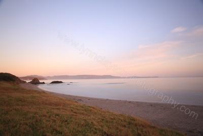 Pre dawn at Tawharanui Beach