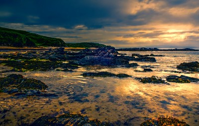 Beach in County Donegal