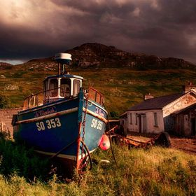 Abandoned Boat in Urris