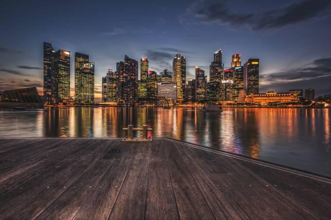 night falls by johnphillips - Boardwalks Photo Contest