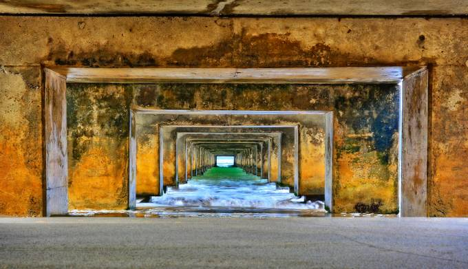 Under The Boardwalk Again! by chrisholcroft - Parallel Compositions Photo Contest