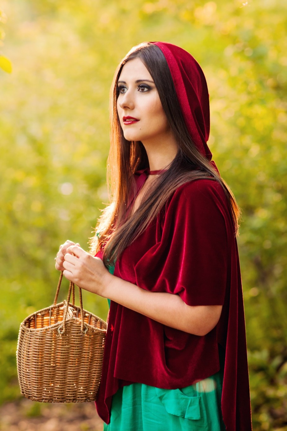 Red Riding Hood 4 by Laska - Feeling Hope Photo Contest