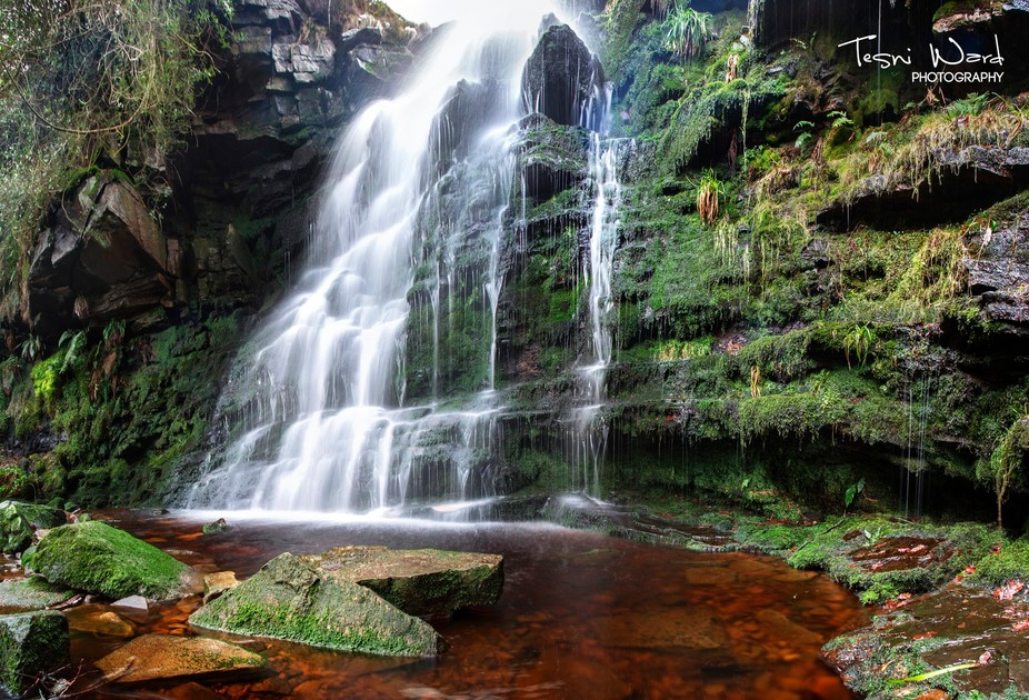 Middle Black Clough in the Peak District!