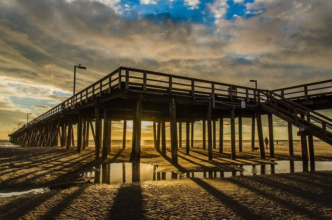 Hueneme Pier at sunset by Bruz - Dark And Bright Photo Contest