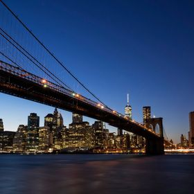 The Brooklyn Bridge is one of the oldest suspension bridges in the United States. Completed in 1883, it connects the boroughs of Manhattan and Br...
