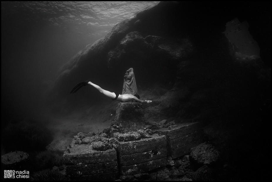 underwater shot, Lampedusa Island (Italy)