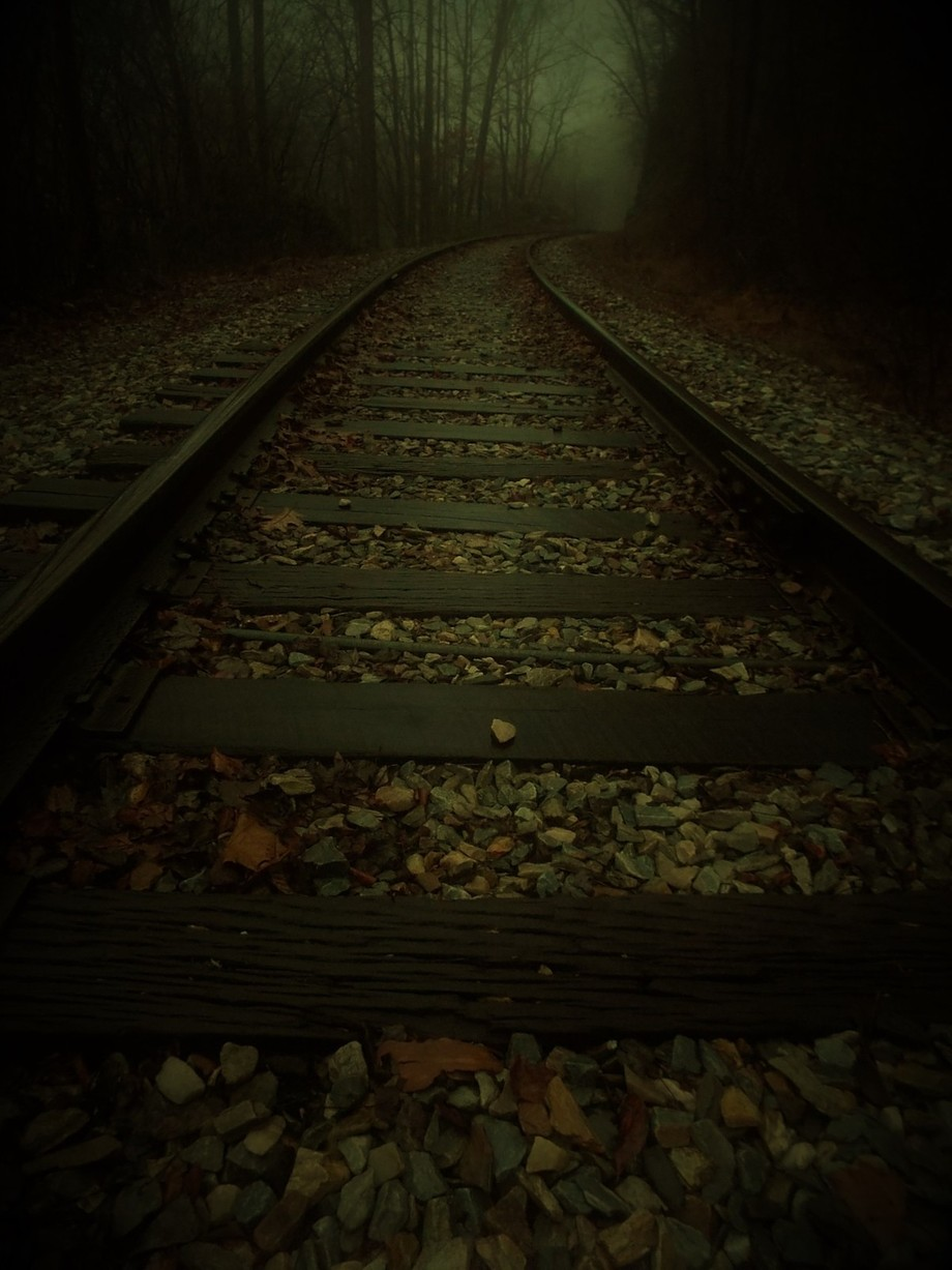 End of the Line..... by InBillsEyes-Photography - Empty Railways Photo Contest