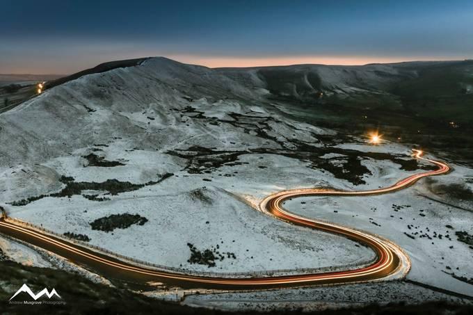 Ridge Racers by muzmuzzymuz - Winter Long Exposures Photo Contest