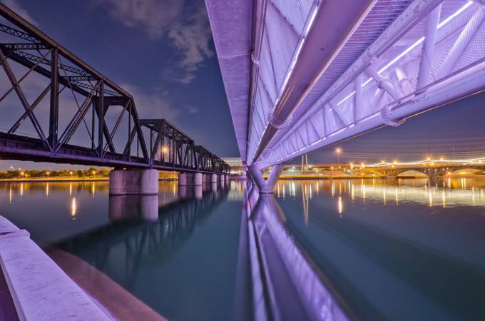 Tempe Town Lake by urbanviewphoto - Light On Water Photo Contest