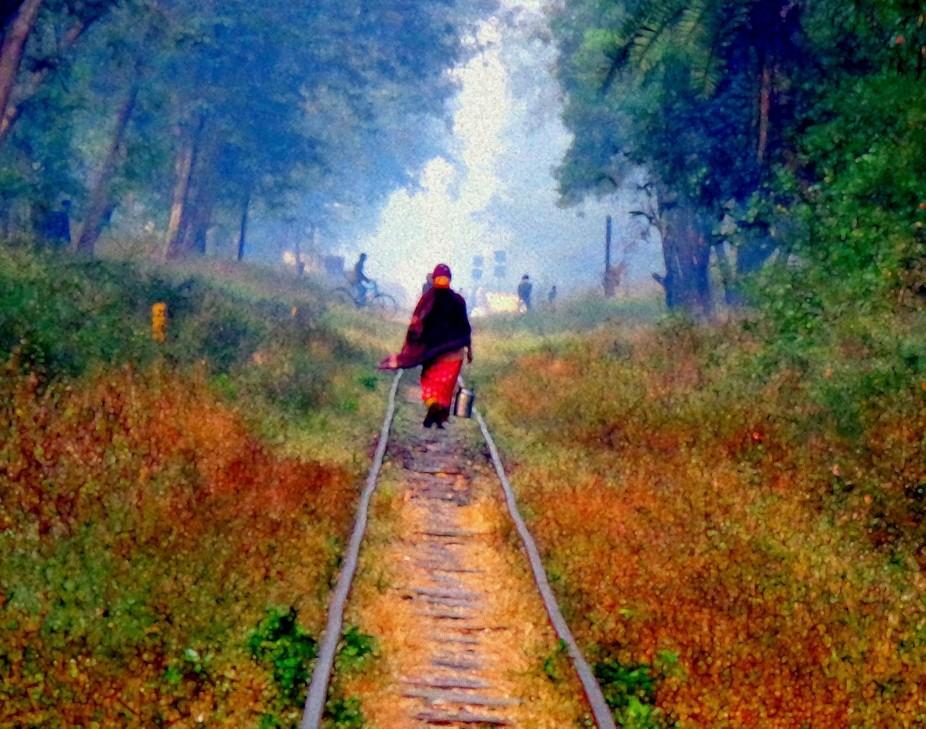taken at dang,India