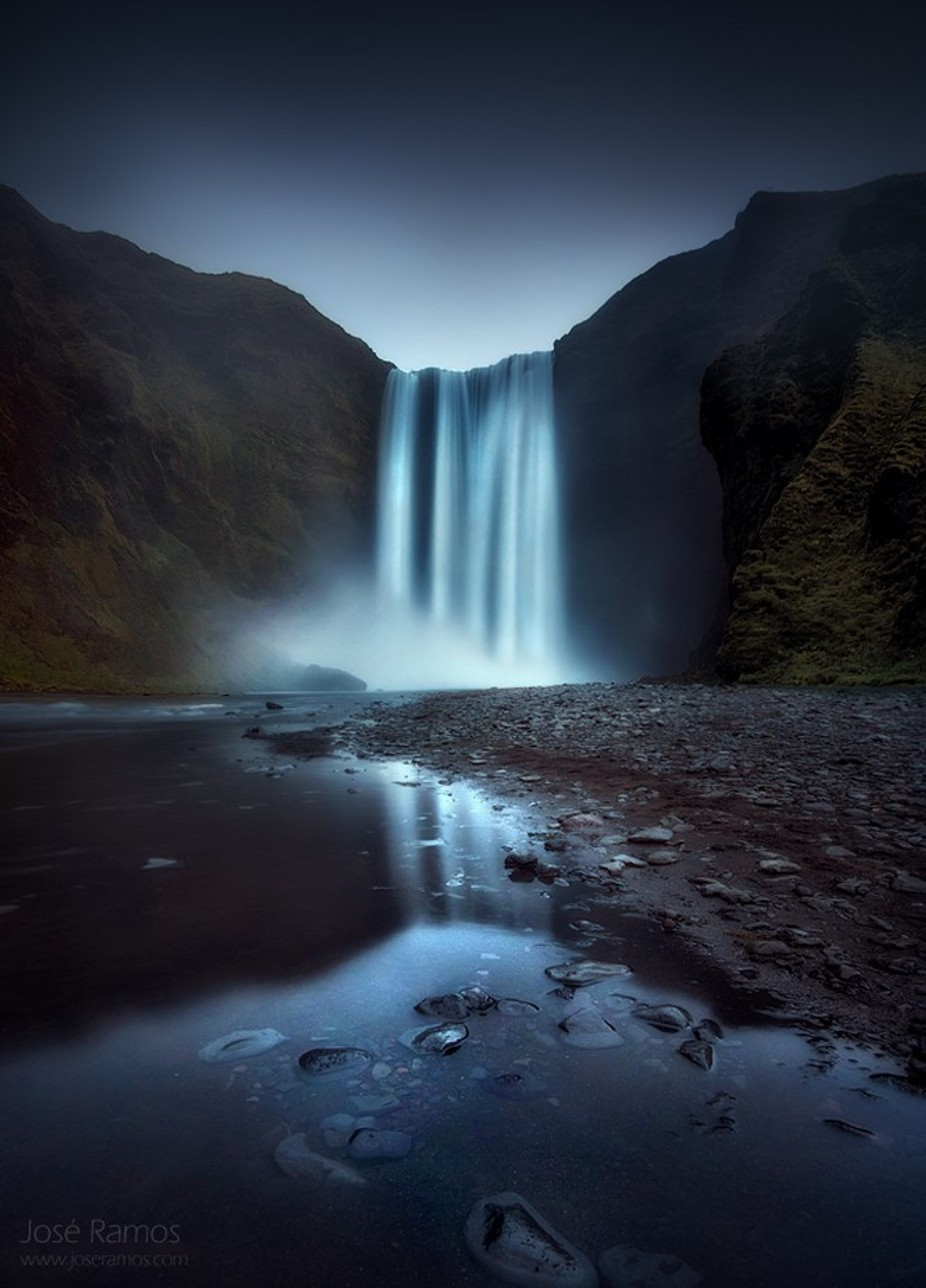 Sublimation by joseramos - Landscapes Of Iceland Photo Contest