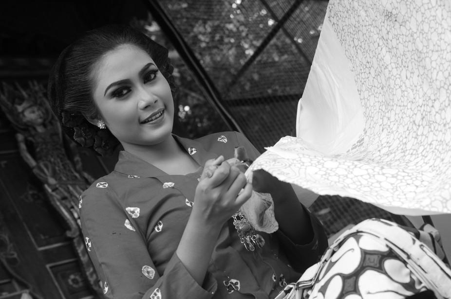 Ordinary batik girl
