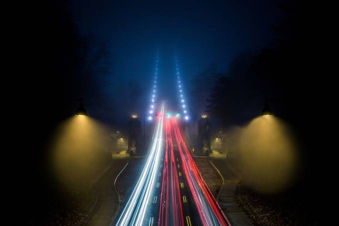 Bridge to Nowhere by leannescherp - Long Exposure Experiments Photo Contest