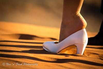 Shoe in the Desert