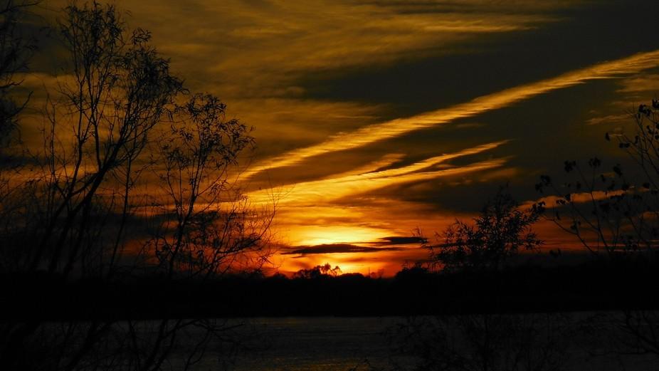 A sunset in Louisiana
