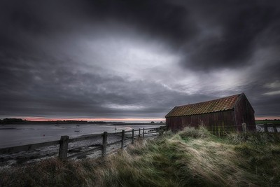 The old boat shed
