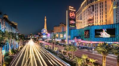 USA - Las Vegas - The Strip by Night