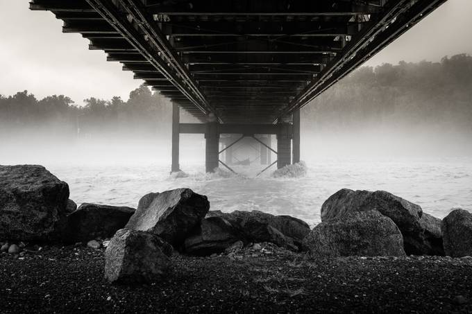 Misty roar by sadetutka - Under The Bridge Photo Contest