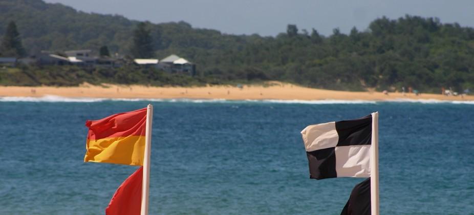 An important sight on any Australian beach