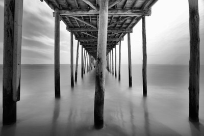 midday under the pier