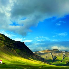 West Iceland mountainview