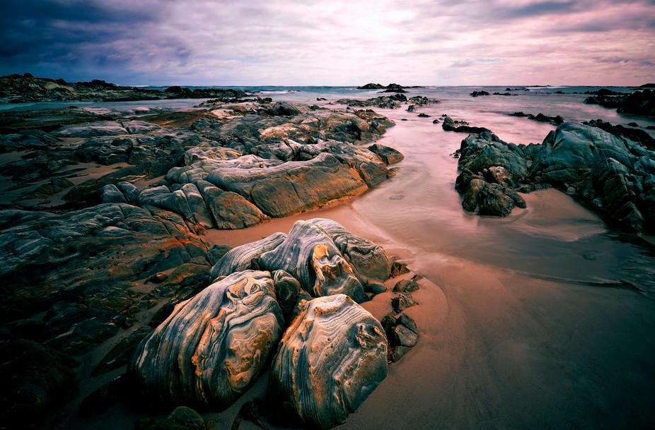 Fantastic , colourful rocks