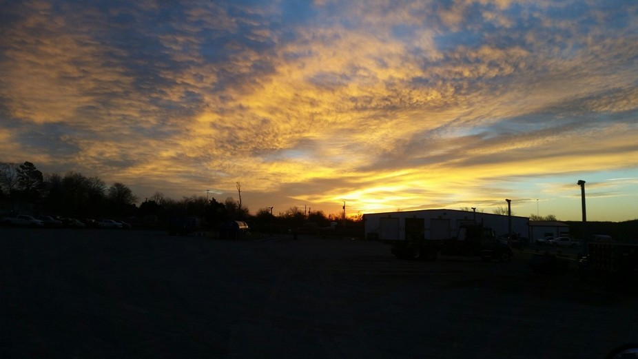 Another beautiful sunrise in oklahoma