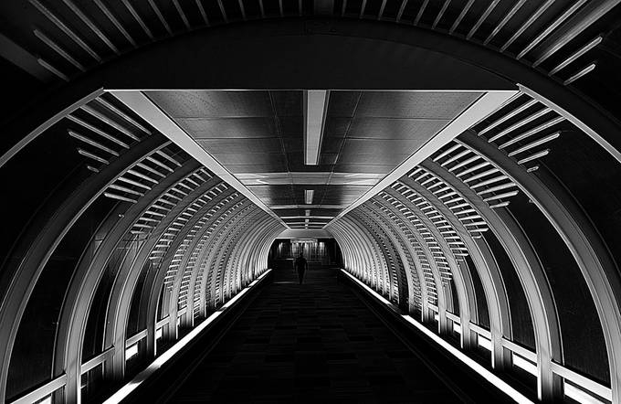 Tunnel Vision by SteveBW - Shapes and Lines Photo Contest