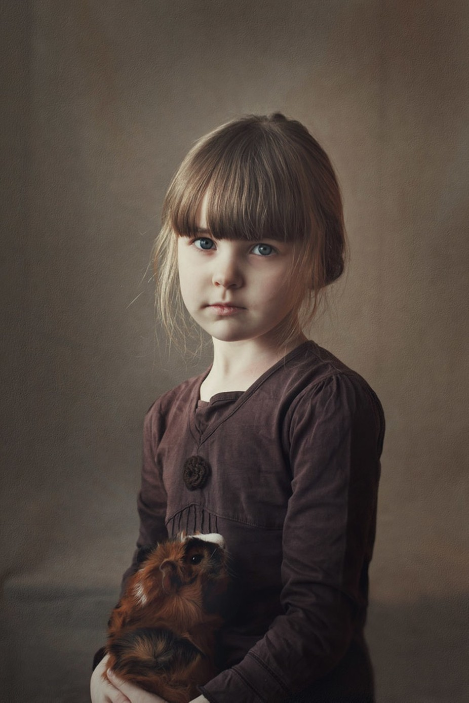 Portrait by OxanaAlexandrova - The Brown Color Photo Contest