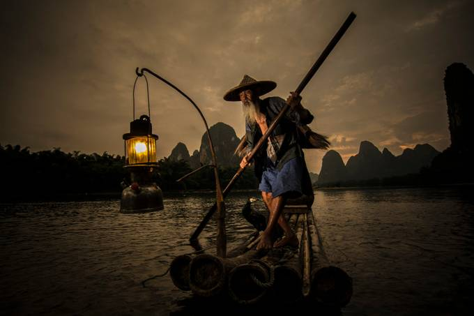 The loyalty of Fisherman by Fuad_Rahim_Asman - Amazing People Amazing Places Photo Contest
