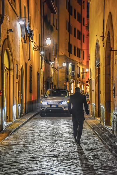 A Lonely Guy In Florence!