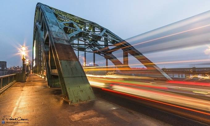 Tyne Rush Hour by petergreig - Metallic Matter Photo Contest