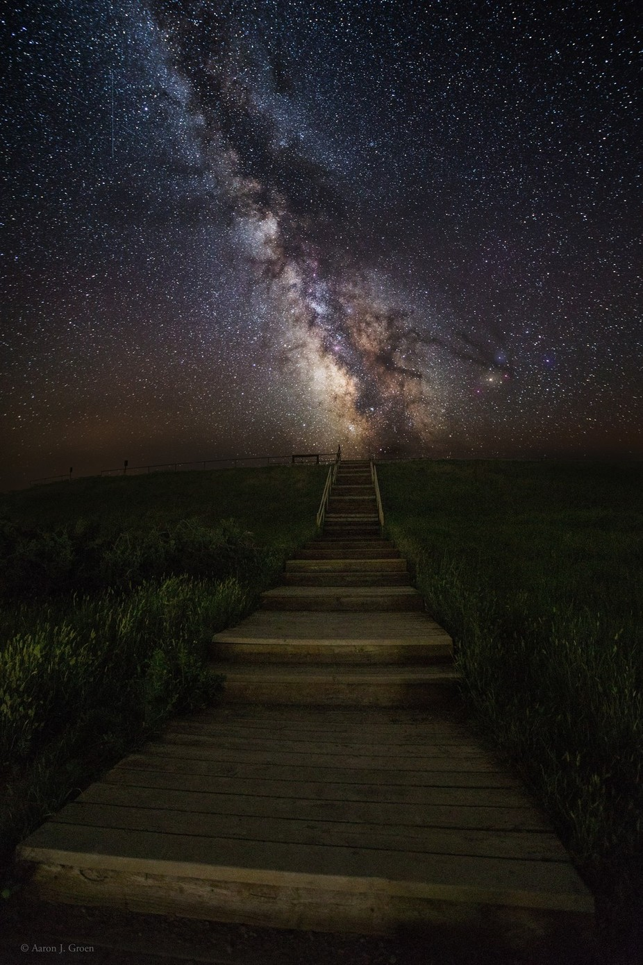 Stairway to the Galaxy by aaronjgroen - Stairways Photo Contest