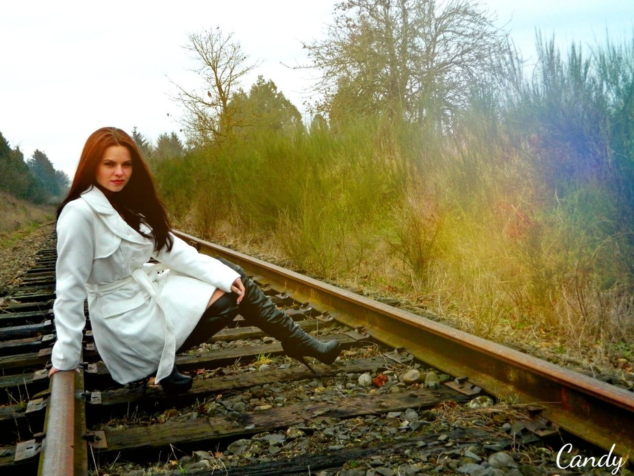 Model : Shalyn Money   Done by me Candace Monohan  Oregon country side